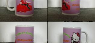 Mug souvenir ulang tahun Alecia 1st selamat ya