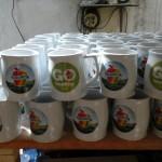 Mug Bir /Gentong logo Apel Washington