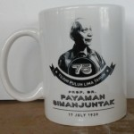 Mug design siluet foto Decal bakar