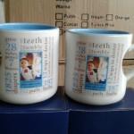 Mug Souvenir Model Love dalam warna Design Ultah