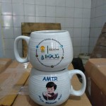 Mug Donat design IHWG Universitas Indonesia